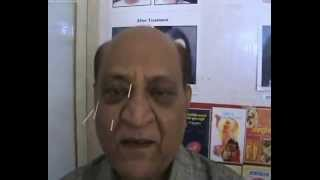 EYE FLOATERS cured by acupunture - Dr :Prakash Verakar