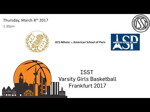 ISST Varsity Girls Basketball: ATH vs ASP