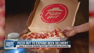 Pizza Hut to expand beer delivery