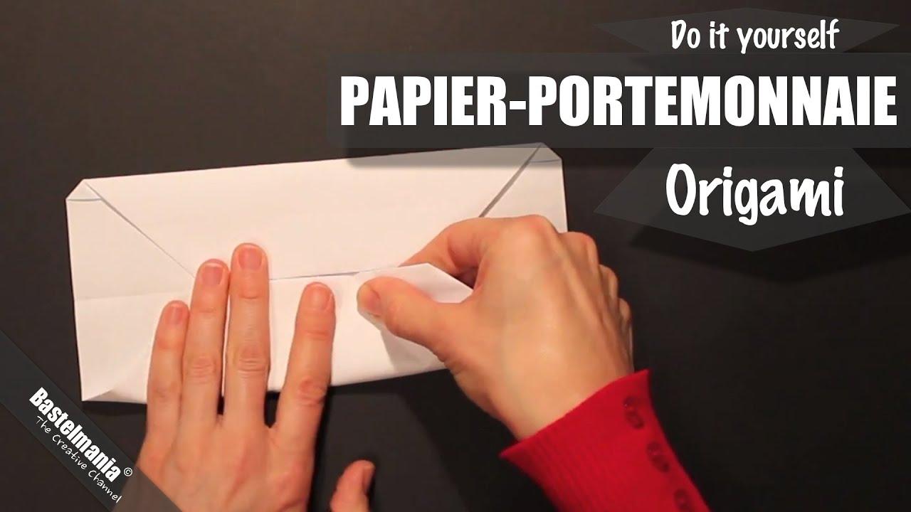 Papier Portemonnaie / Paper Wallet / Origami / Portemonnaie falten ...