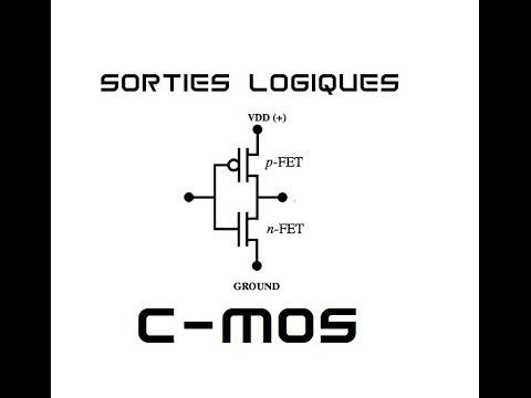 Cyrob interface sorties logiques 2 portes c mos youtube for Porte logique