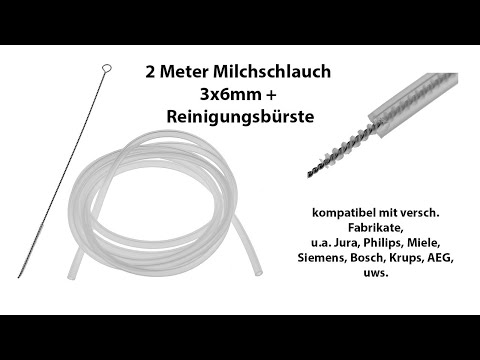 SIEMENS Reinigungsbürste für Kaffeevollautomat /& Milchschlauch Bosch Jura