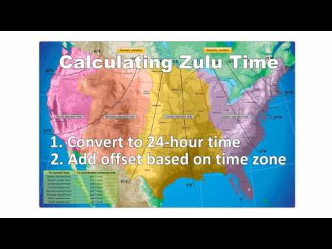 Pilot's Guide to Zulu Time