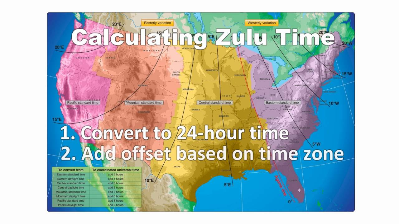 Pilot S Guide To Zulu Time