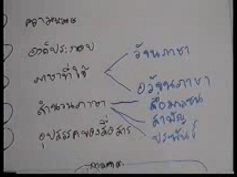 ภาษาไทย ม.4 เทอม 1