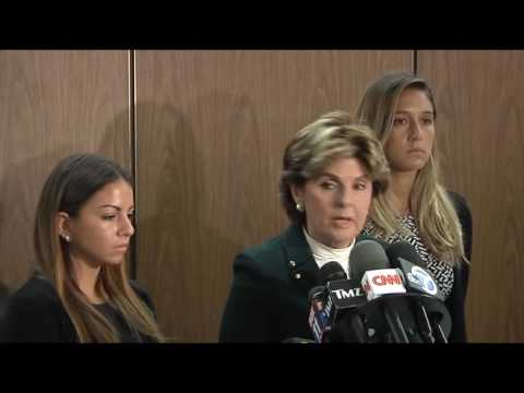 Gloria Allred Speaks on Behalf Darren Sharper Victims