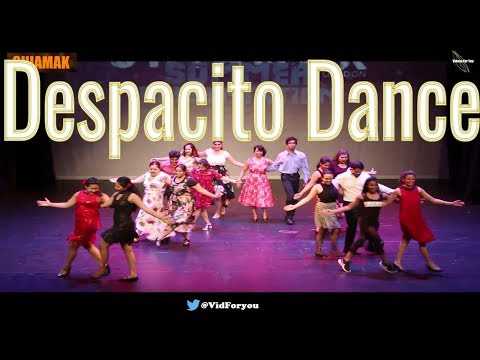 Salsa| despacito| lyrics| Mon Amour| Song| Dance |Remix|  Shaimak| London|  Presentation 2018