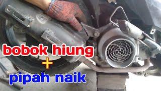 Gambar cover Bobok hiung + pipah naik honda beat mp7