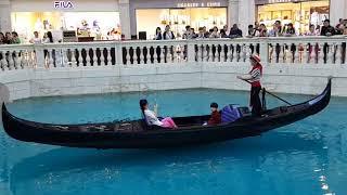 홍콩 마카오 Macau 여행 베네시안 호텔 실내 운하