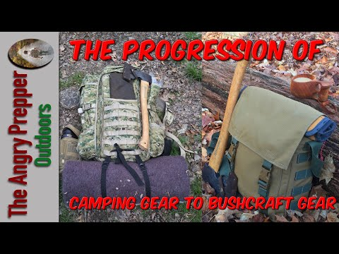 The Progression Of Camping Gear To Bushcraft Gear