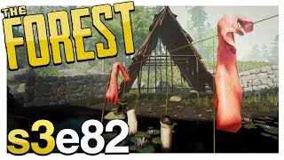 CLAIMING THE CLOTH VILLAGE | The Forest Gameplay S3E82 (Alpha v0.67)