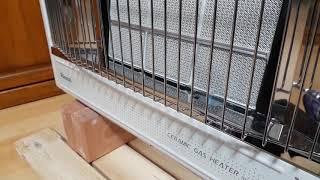 린나이 적외선 가스난로 RHS-650WF 벽걸이형 온풍…