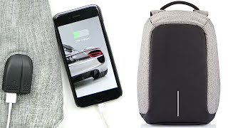 Anti-Theft Backpack w/ Headphone & USB Ports