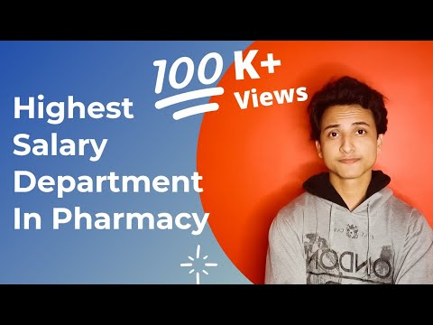 High Salary Department In Pharmacy Company - Career In Pharmacy