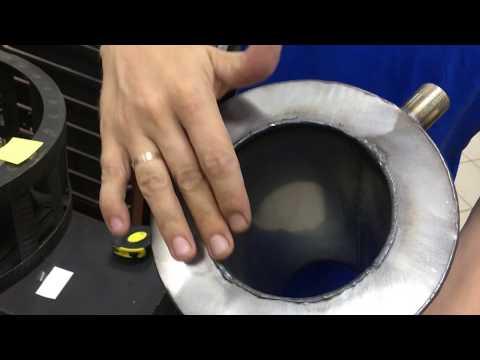 Универсальный и долговечный теплообменник.Как нагреть воду в бане?