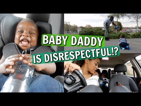BABY DADDY IS DISRESPECTFUL!? + SHARING A SECRET.. || VLOG