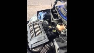 Mini panne moteur