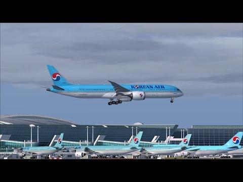 Korean Air New Boeing 787-9 Dreaminer [HL8081] Arrival @ (ICN) Seoul