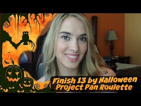 Finish 13 by Halloween- Roulette Project Pan Intro!