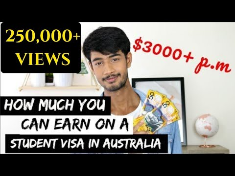 How much you can earn as Student in Australia (3000+$ a month)