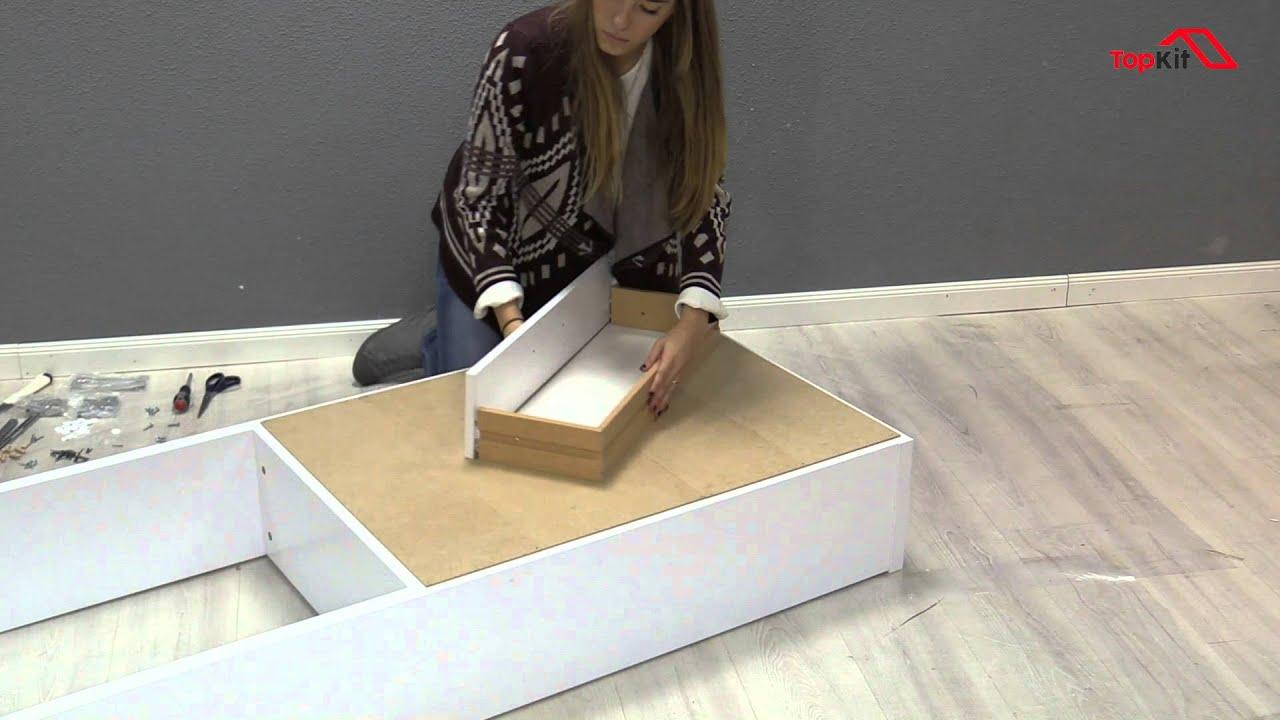 C mo montar el mueble sobre el inodoro youtube - Mueble para encima del inodoro ...