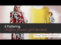 Flattering Chiffon Flower Girl Dresses Collection
