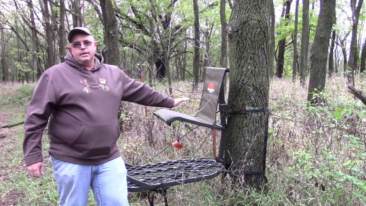 Millennium M150 Deer Hunting Stand Youtube