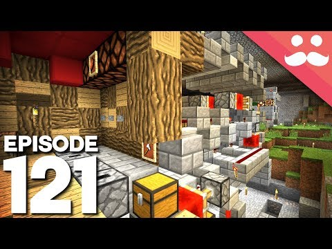 Hermitcraft 5: Episode 121 - BLAZE FARM and Redstone!