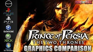 Prince of Persia Two Thrones | Graphics Comparison | ( PSP , PS2 , PS3 , Gamecube , XBOX , PC )
