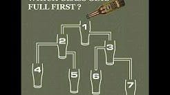 Which Glass Gets Full First Answered In Real Life!