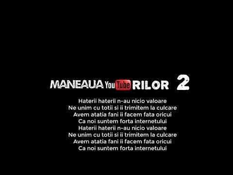 Maneaua Youtuberilor 2 #EdyTalent (versuri) video