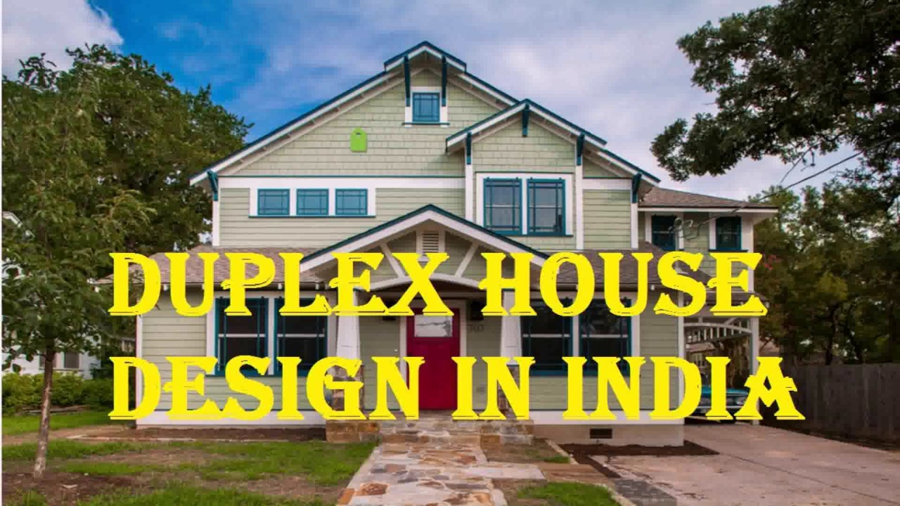 Latest duplex house design in india youtube for Watch duplex free online