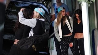 Cara and Michelle Share Another PDA | Splash News TV | Splash News TV