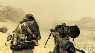 Repeat youtube video Call of Duty Modern Warfare 2 Sniper Mission Gameplay HD