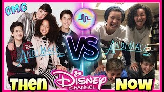 Andi Mack First VS Last Musical.ly Compilation | Disney Stars Then And Now Musically 2017