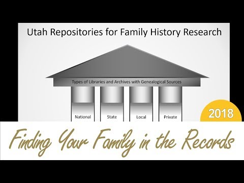 Utah Repositories For Family History Research | Holly Hansen