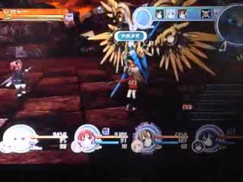 Chou jigen game Neptune MK II Strongest DLC boss fight (Legacy) |