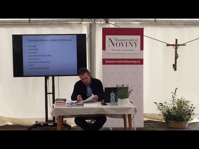 Petr Kosinka: Pronásledování křesťanů v současné Evropě