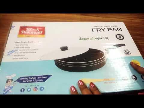Black diamond non- stick frying pan review