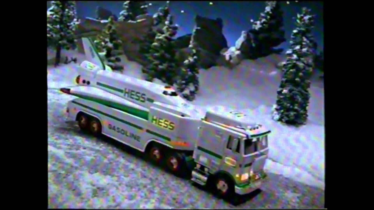 Hess 1999 Christmas Truck Space Shuttle Satellite Toy TV ...