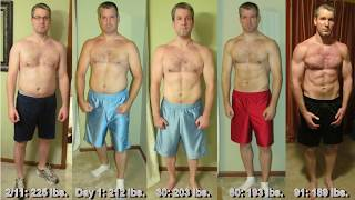 John's P90X Workout Results and Transformation