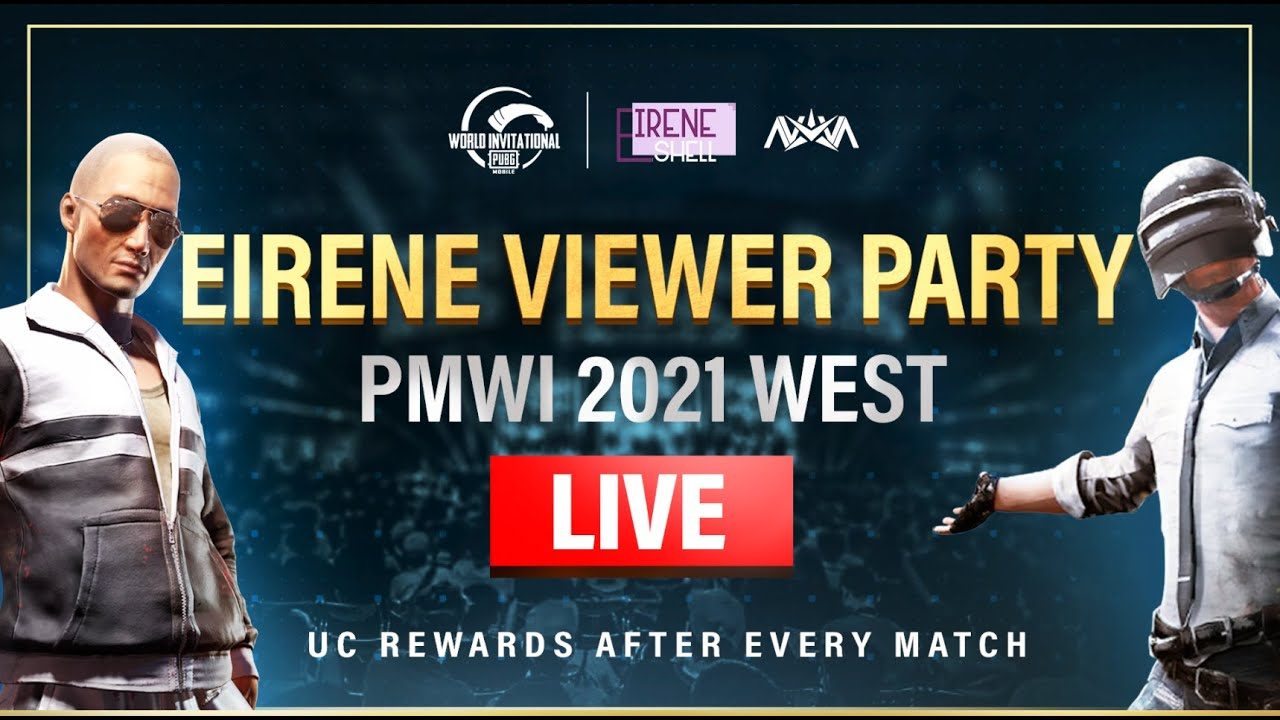 🔴 Day 2: PMWI West Viewer Party! | PUBG MOBILE