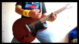Ramones - I'm Affected demo - Guitar Cover
