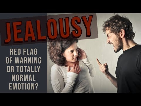 dating jealous man