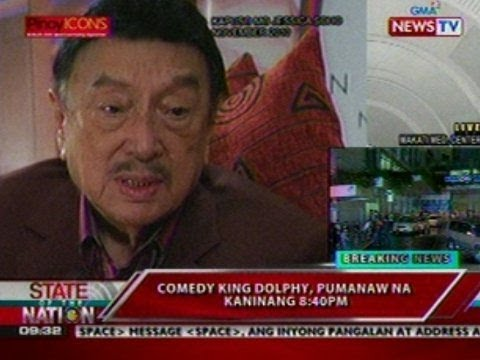 SONA:  Jessica Soho's interview with Dolphy for 'Kapuso Mo J