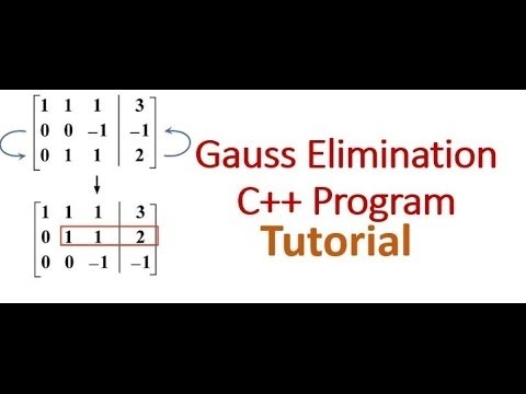 Gaussian Elimination-(Lab Write-Up with Algorithm and FlowChart