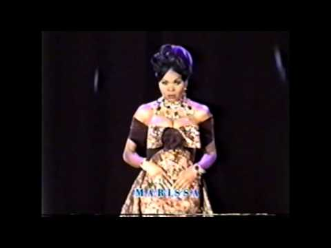 Miss Black Universe 1998 Evening Gown Category