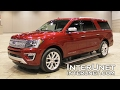 2018 Ford Expedition MAX Platinum ? 7-passenger full size SUV