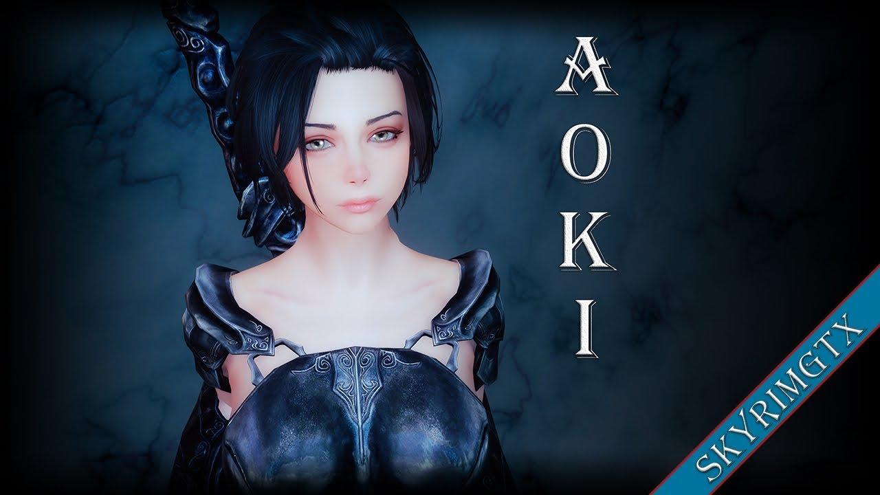Aoki Follower at Skyrim Nexus - mods and community