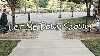 Alec Benjamin - Let Me Down Slowly (feat. Alessia Cara) [Chaz Mazzota feat. Lauren Cimorelli]